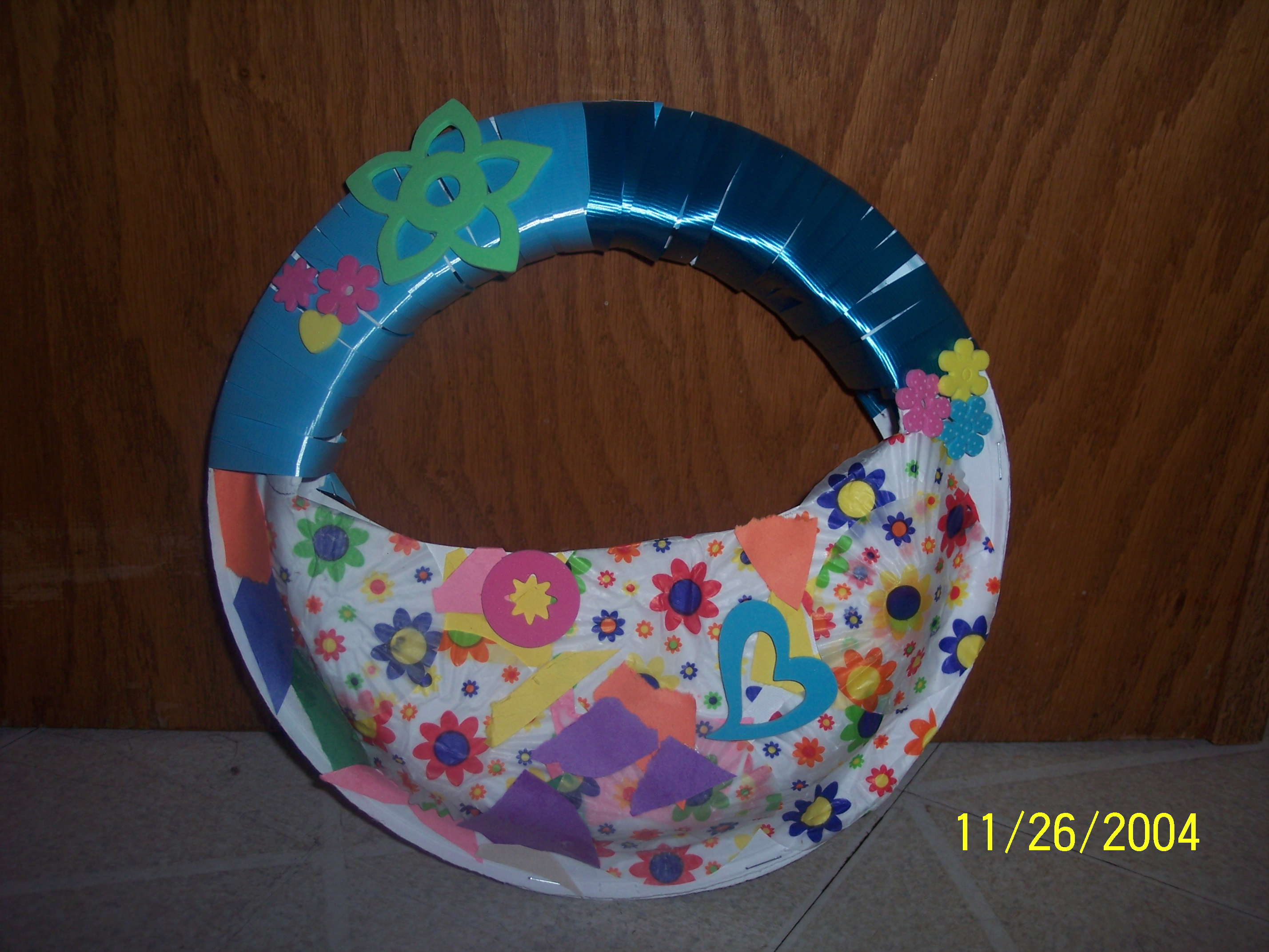 Kid S Basket Craft Claiming Creativity